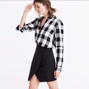 MADEWELL PARKWAY Mini Skirt Asymmetrical skirt